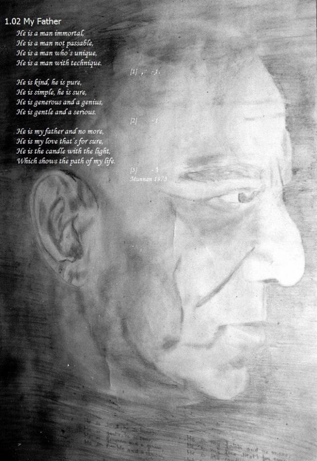 Sketch Of Pt. K.L. Misra